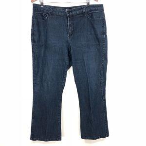 NYDJ Bootcut Jeans 16W stretch